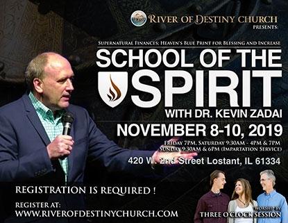 River of Destiny Church School of the Spirit