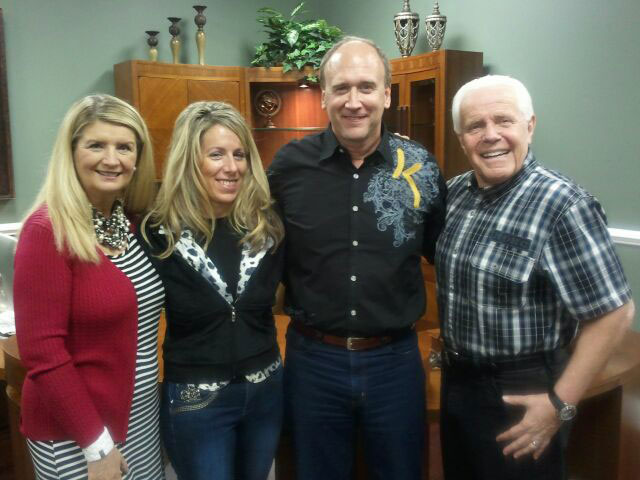 Kevin and Kathi Zadai with Jesse and Cathy Duplantis