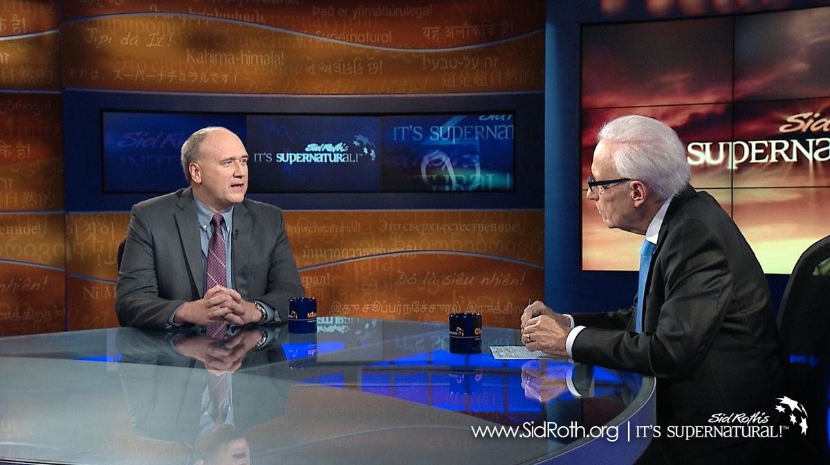 Sid Roth interviewing Kevin Zadai