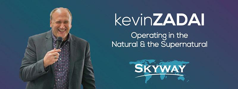 Kevin Zadai at Skyway Church