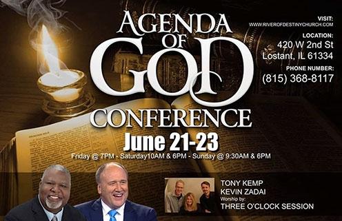 Agenda of God Conference