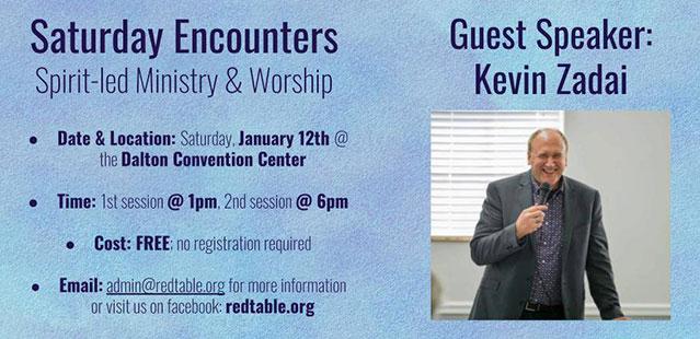Saturday Encouners January 12, 2019