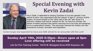 Special Evening with Kevin Zadai