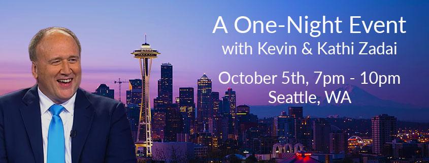 One-Night Event Seattle, WA